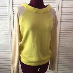 Juicy Couture boat neck 100% cashmere sweater
